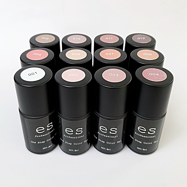 【NEW】es professionalシリーズ Oen Step Color Gel 全12色
